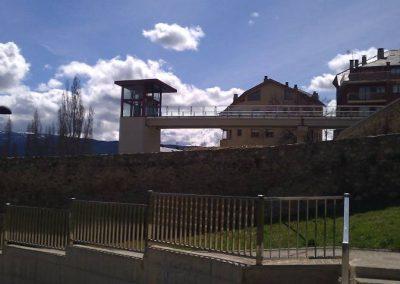 Ascensor instal lat a Puigcerdà