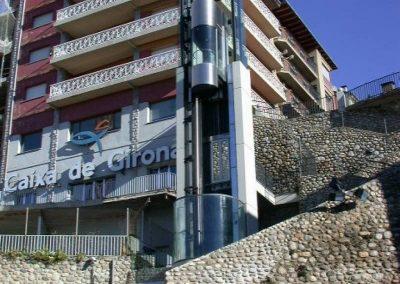Ascensor panoràmic Puigcerdà