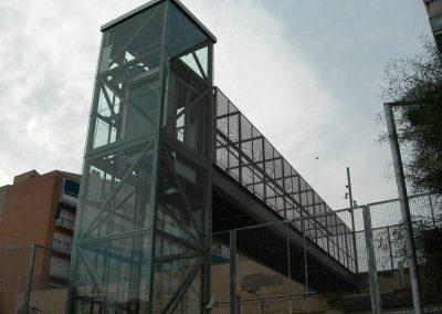 Ascensor panoràmic connexió urbana Amilcar : Grau