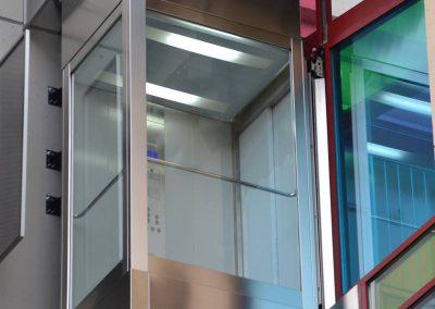 Cabina de l'ascensor panoràmic
