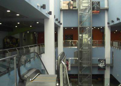 Escala Mecànica i Ascensor panoràmic instal·lats