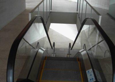 Barcelona – escales mècaniques i ascensors Tanatori Sant Gervasi