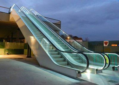 Parets dels Valles – escales mecàniques