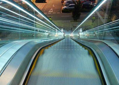 Il·luminació LED i escala mecànica instal·lada per Ascensors Soler