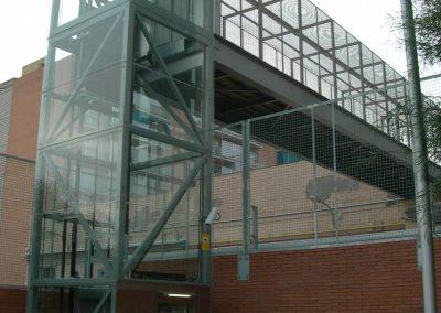 Instal·lació ascensor panoràmic