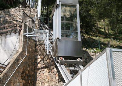 Instal·lació d'Ascensor inclinat a Castelldefels
