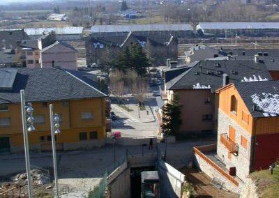 Instal·lació d'ascensor inclinat a Puigcerdà