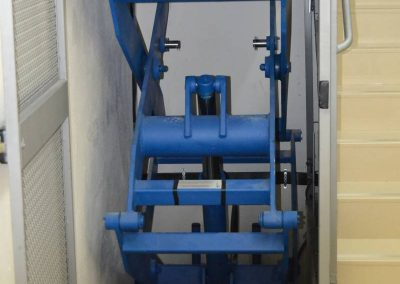 Instal·lació de plataforma de tisora