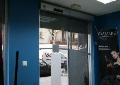 Instal·lació de porta automàtica realitzada per Ascensors Soler