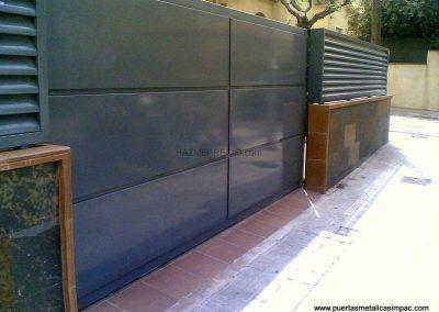 Instal·lació de porta corredissa a Girona