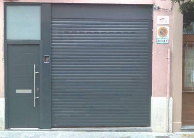 Terrassa – Puerta enrollable