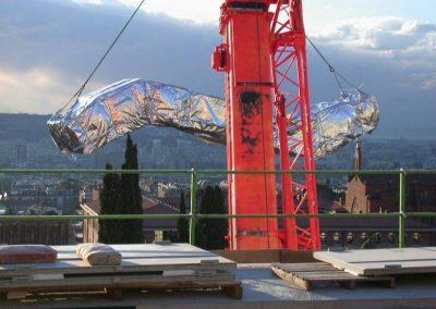 Instal·lació escala mecànica Tanatori Sant Gervasi