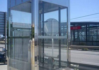 Instal lació d'ascensor estació de rodalies Cabrera de Mar