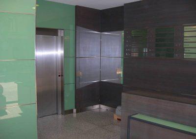 Instal lació d'ascensors edifici d'oficines Barcelona