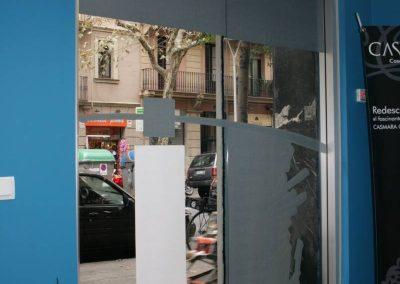 Porta automàtica instal·lat en Centre de bellesa l 'Equilibri