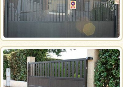 Porta batent instal·lat a Lleida