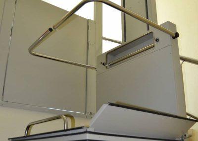 Puja-escales instal·lat a l'Hospital Sant Rafael