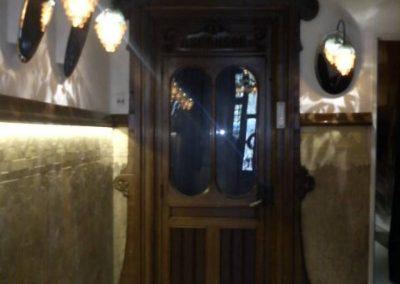 Reforma ascensor històric