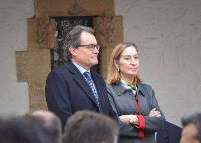 Sr. Artur Mas i Sra. Ana Pastor liderant l'acte inaugural