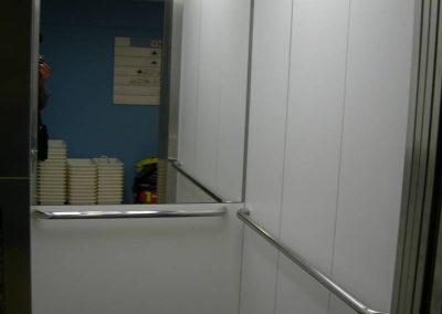 Vista interna ascensor 1 fundació privada Auria